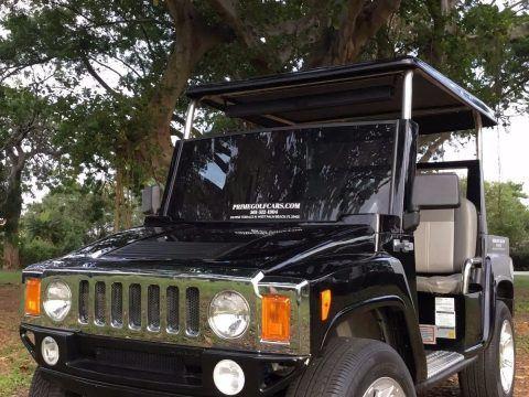 clean 2015 acg Hummer golf cart for sale