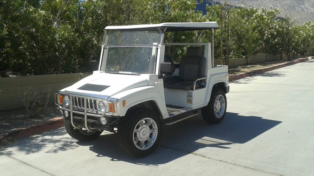 custom 2015 ACG Hummer golf cart