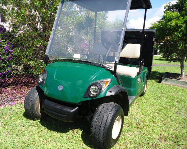 excellent shape 2014 Yamaha Adventurer golf cart for sale