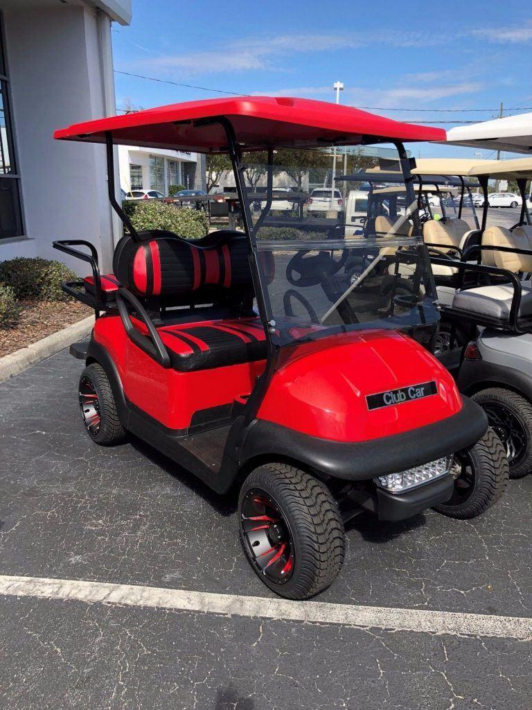 like new 2015 Club Car Precedent golf cart