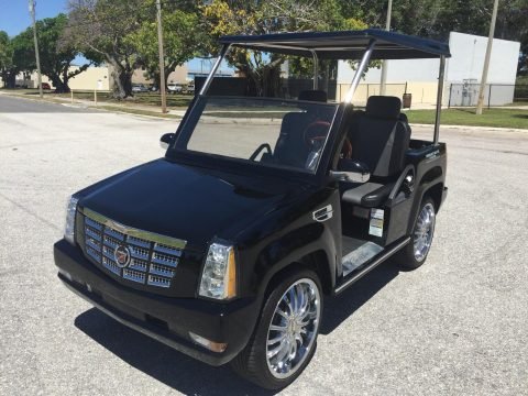 low miles  2015 ACG Cadillac Escalade golf cart for sale