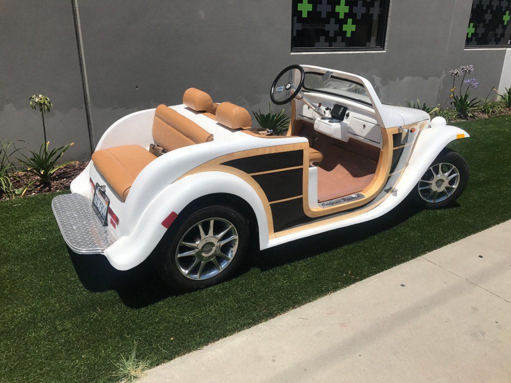 custom 2016 Acg Woody golf cart