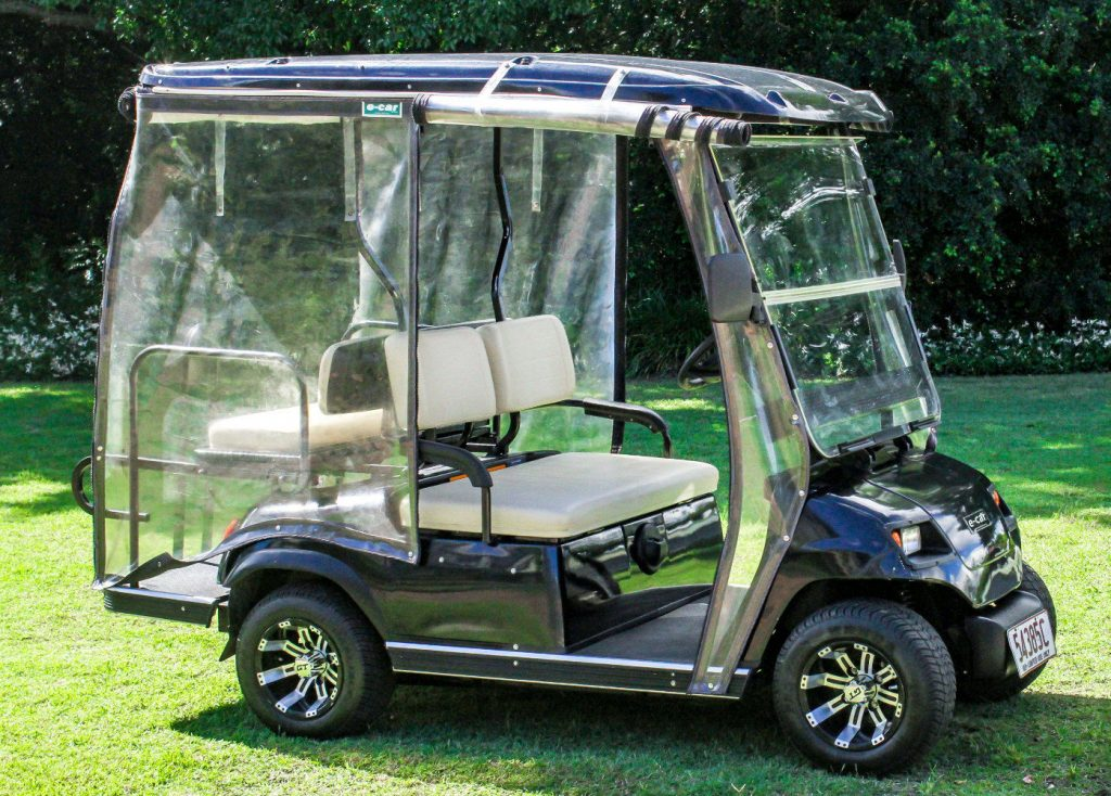 fully serviced 2016 ECAR golf cart