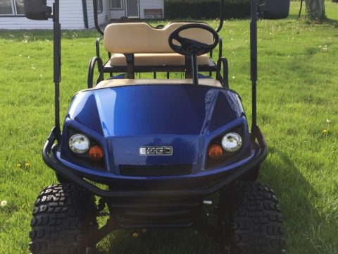 just as new 2016 EZ GO gas Golf Cart for sale