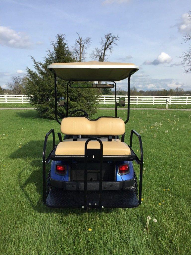 just as new 2016 EZ GO gas Golf Cart