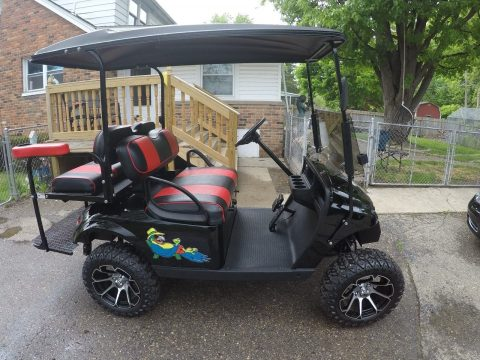 like new 2017 EZGO golf cart for sale