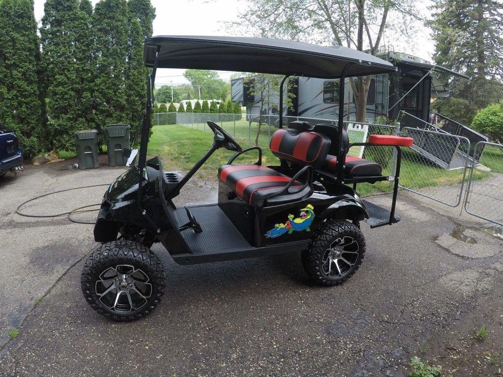 like new 2017 EZGO golf cart