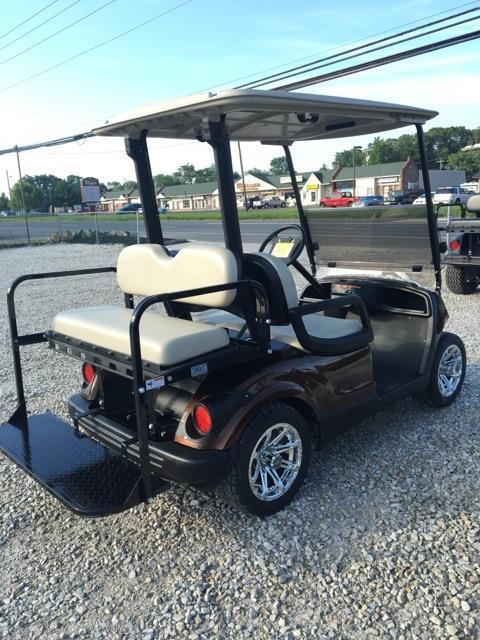 custom paint 2011 Yamaha golf cart