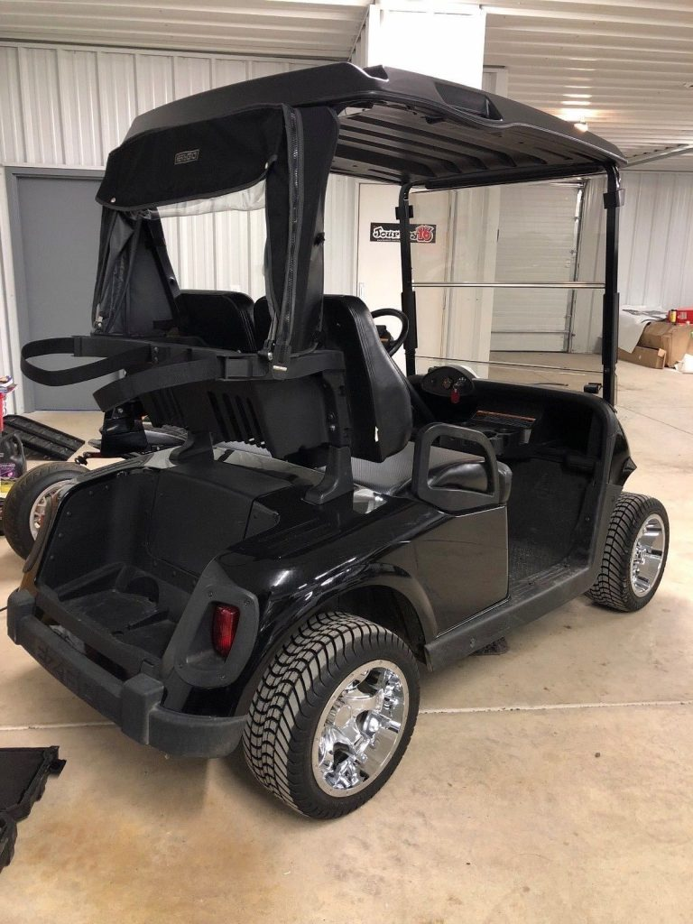 few scrapes 2011 EZGO RXV golf cart