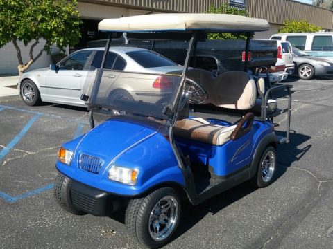 fully loaded 2011 Club Car Precedent Custom Golf Cart for sale
