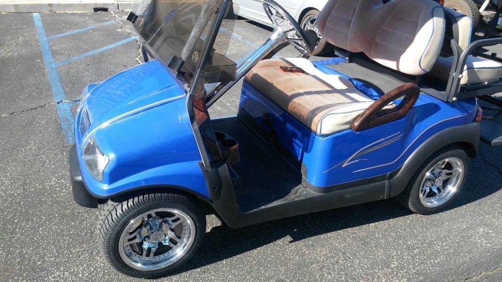 fully loaded 2011 Club Car Precedent Custom Golf Cart