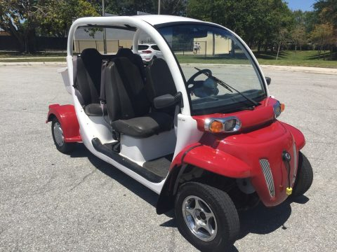 good tires 2012 Polaris gem E4 LSV 4 Passenger SEAT GOLF CART for sale