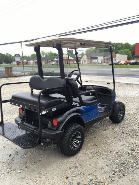 lifted 2013 Yamaha 48 volt Electric golf cart