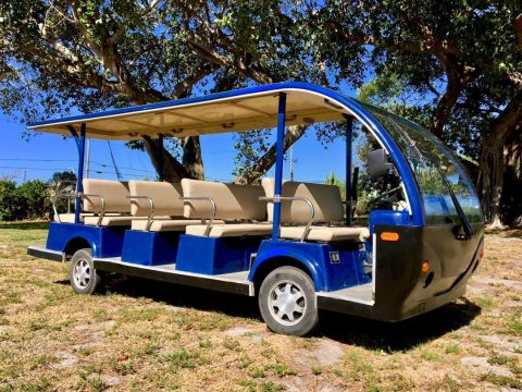 Luxury Limousine 2010 People Mover 14 Passenger Shuttle Bus Limo Golf Cart for sale