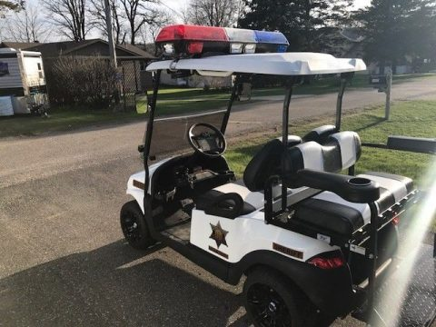 Roscoe P Coltrane Edition 2011 Club Car Precedent Golf Cart for sale