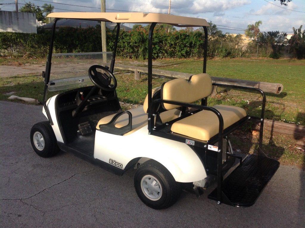 good shape 2014 EZGO golf cart