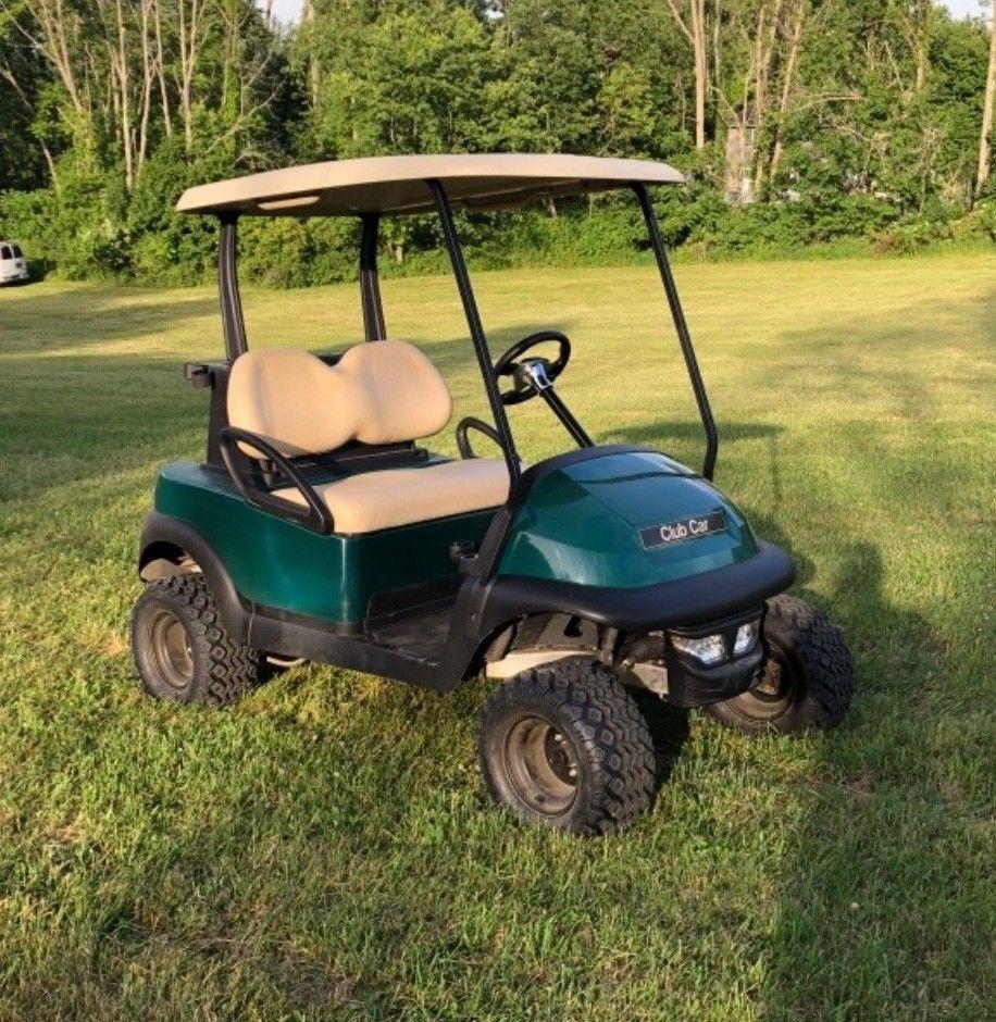 Lifted 2015 Club Car Golf Cart