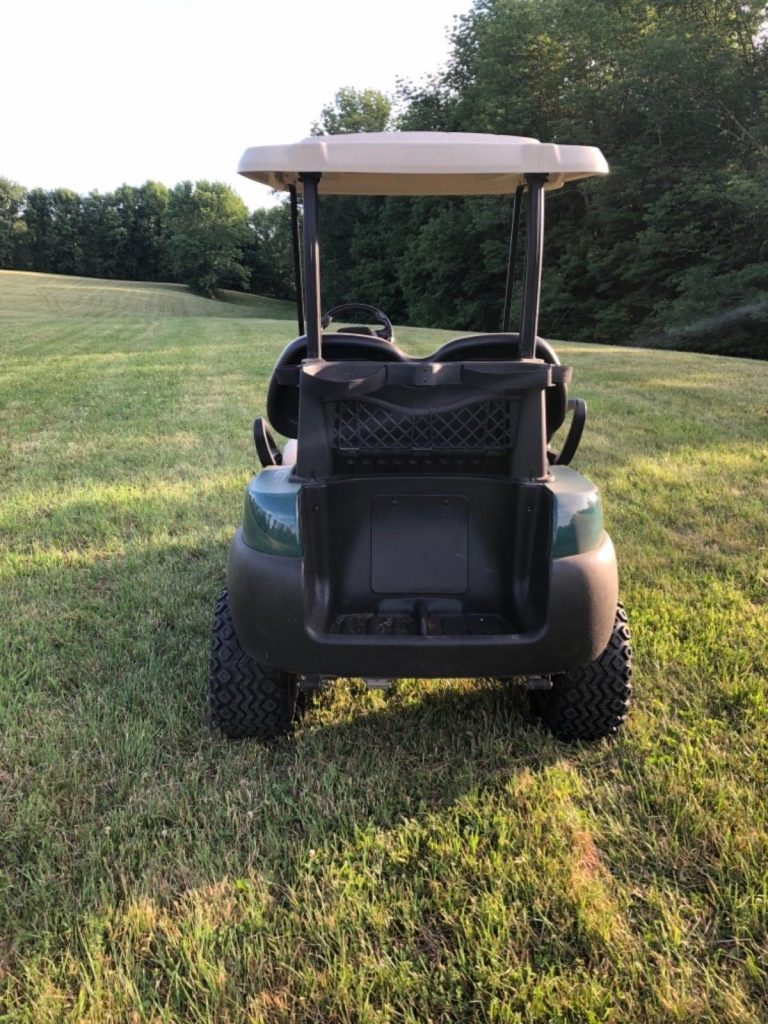 Lifted 2015 Club Car Golf Cart