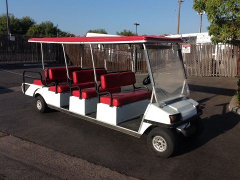 limousine 2014 Club car Villager 8 Passenger seat golf cart for sale