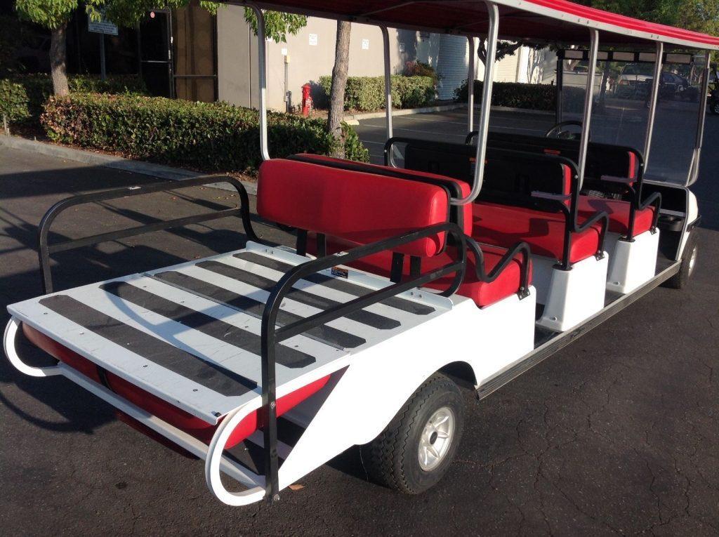 limousine 2014 Club car Villager 8 Passenger seat golf cart