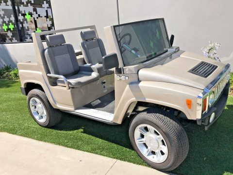 low miles Hummer 2015 ACG golf cart for sale