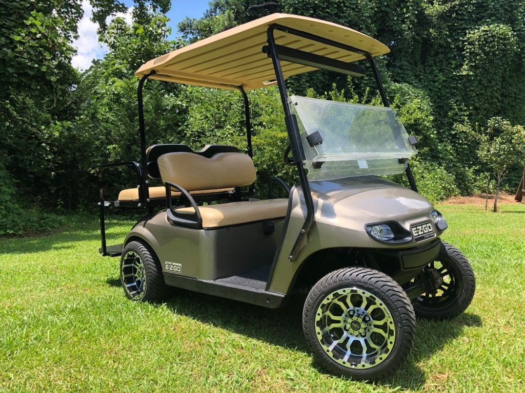 new wheels and tires 2014 EZGO TXT Golf cart