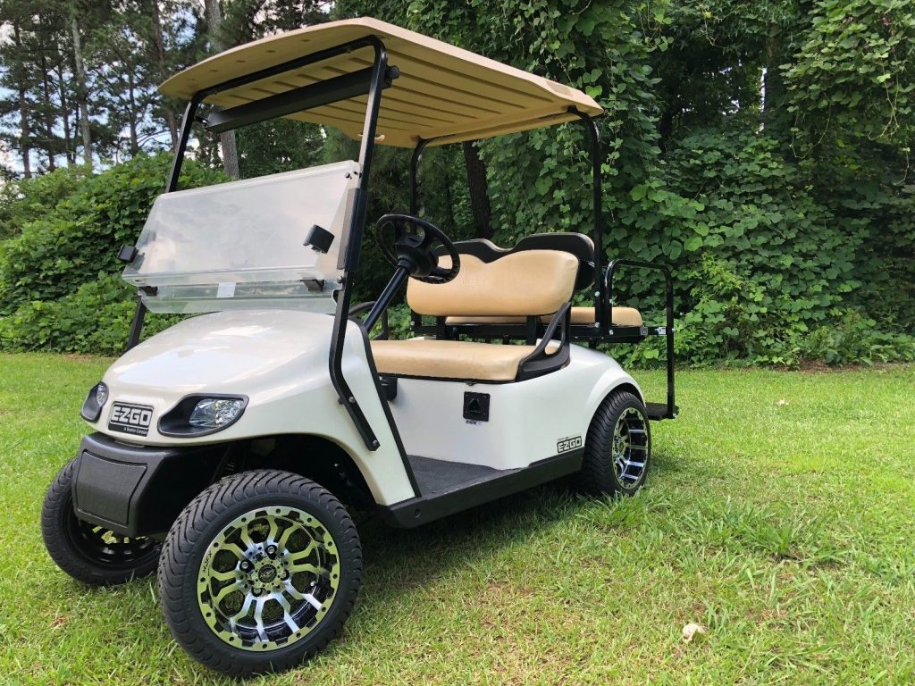 new wheels and tires 2015 EZGO golf cart