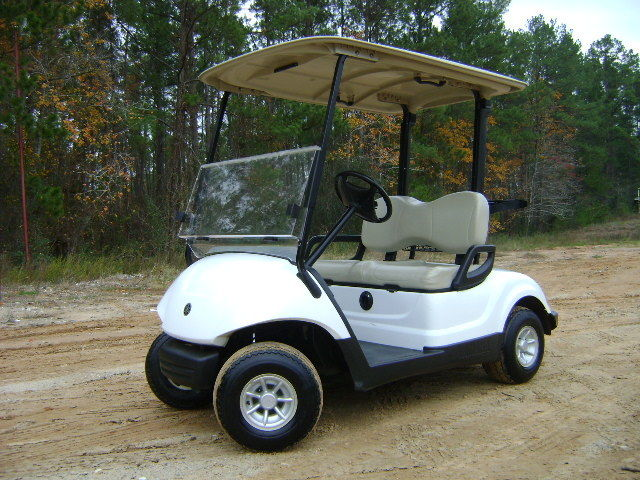 well equipped 2015 Yamaha Drive Electric Golf Cart
