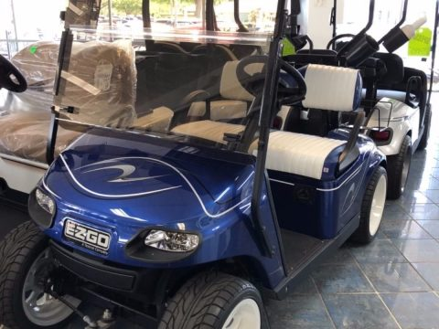 sharp custom 2016 EZGO TXT golf cart for sale