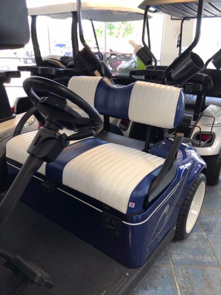 sharp custom 2016 EZGO TXT golf cart