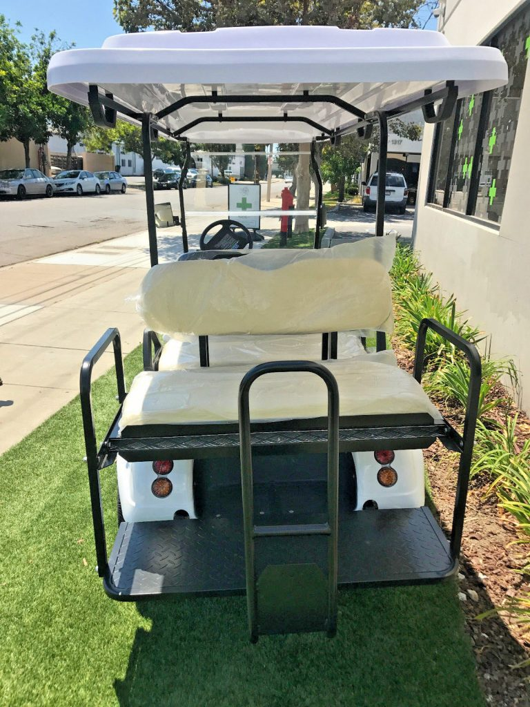 very nice 2017 White Evolution Golf Cart