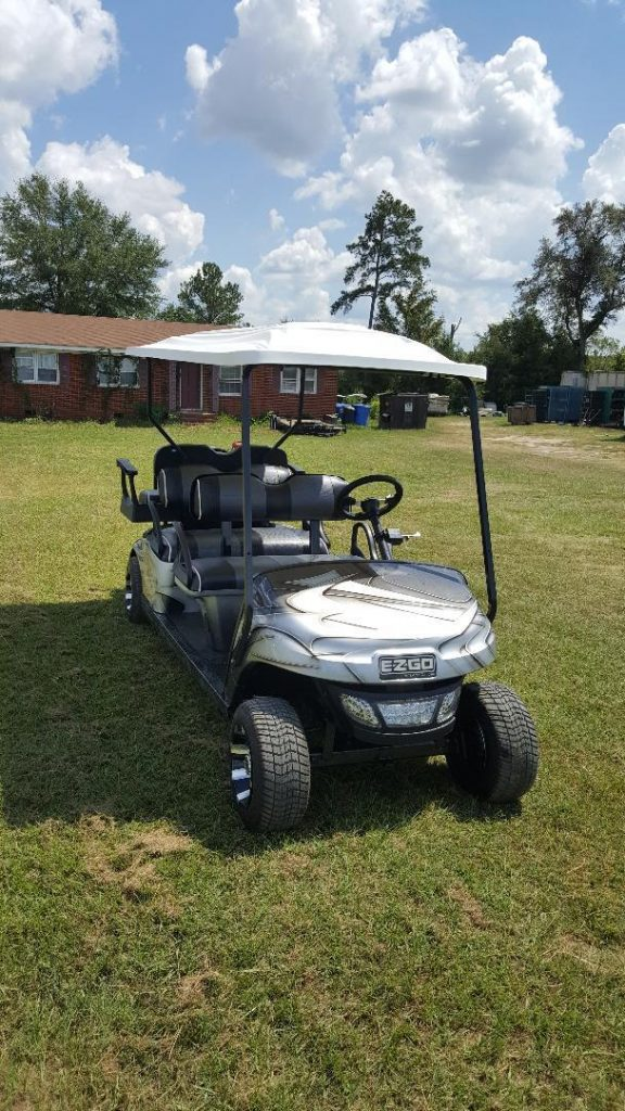 all new and Loaded 2016 EZGO Golf Cart