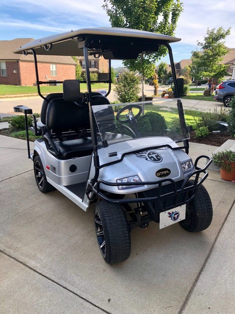 beautiful 2016 Star EV Classic 48v Golf Cart