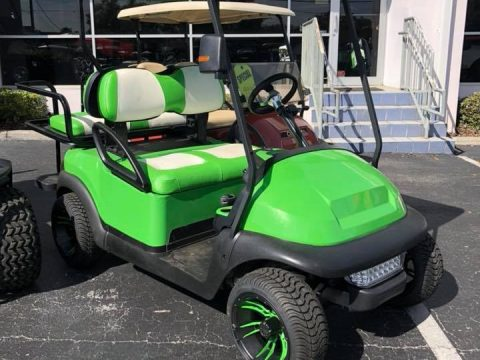 custom 2015 Club Car Precedent golf cart for sale