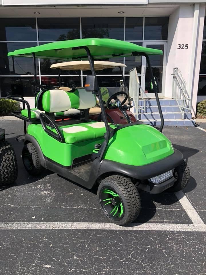 custom 2015 Club Car Precedent golf cart