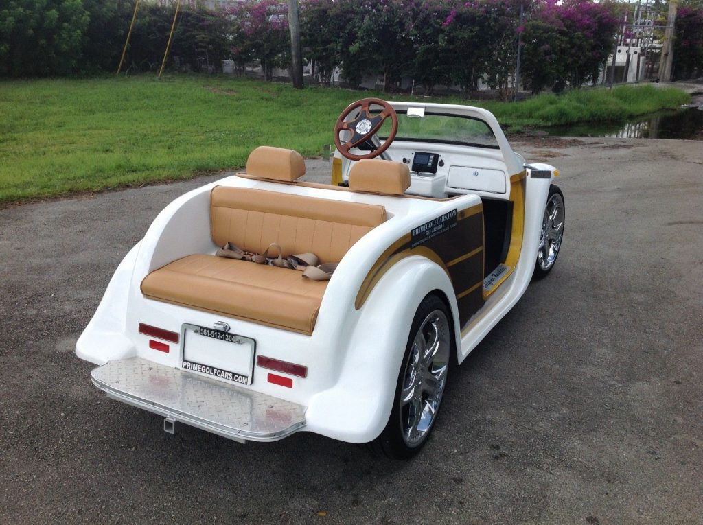 custom 2016 ACG California Roadster Golf Cart
