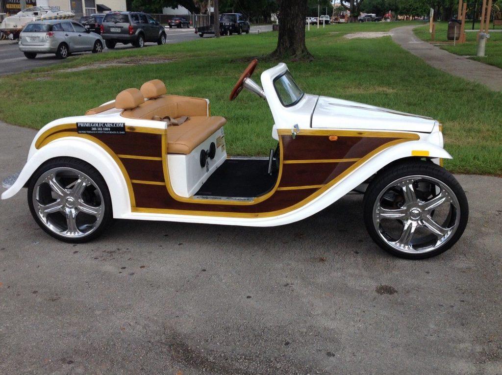 custom 2016 ACG California Roadster Golf Cart
