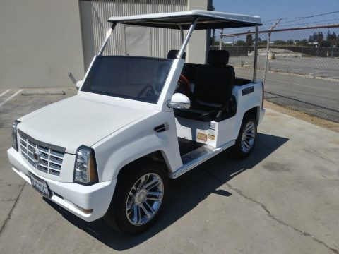 custom bodied 2015 ACG Cadillac Escalade LSV golf cart for sale
