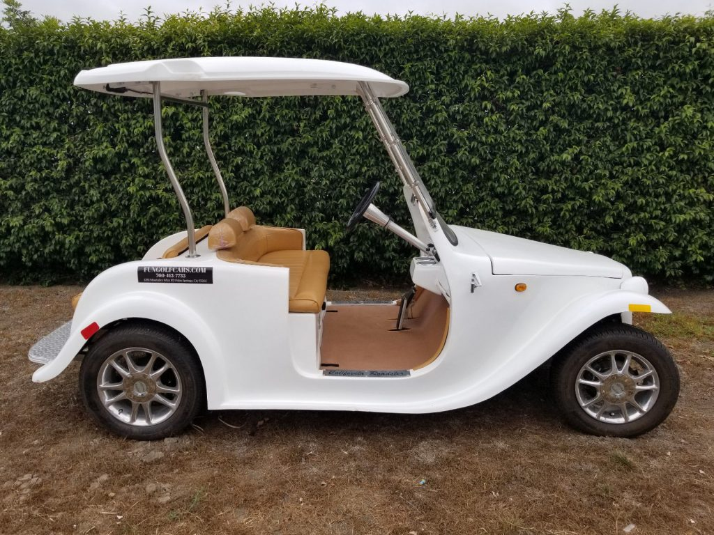 hot rod 2016 ACG California Roadster Golf Cart