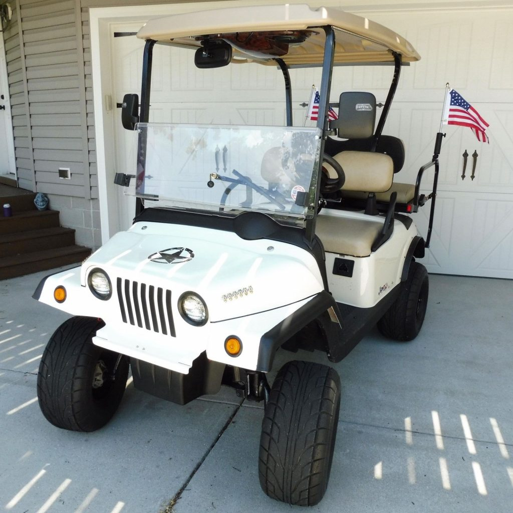 Jeep 2018 EZGO golf cart custom