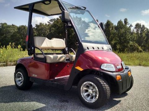 low miles 2016 EZGO golf cart for sale