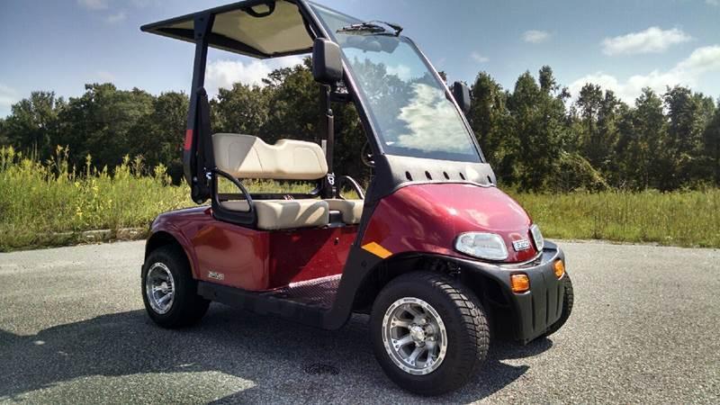 low miles 2016 EZGO golf cart