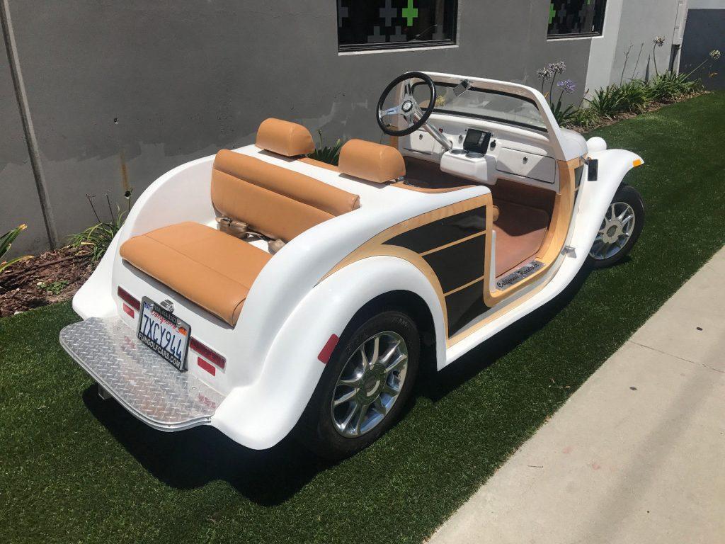 Woody 2016 ACG California Roadster Golf cart