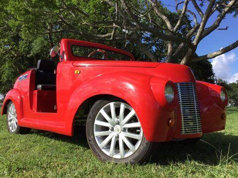 custom 2017 ACG 39 Roadster Golf Cart for sale