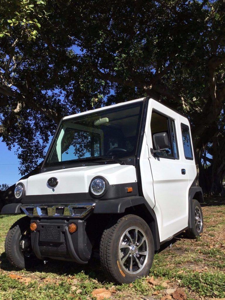 custom 2018 Evolution Revolution 4 Seat Golf Cart