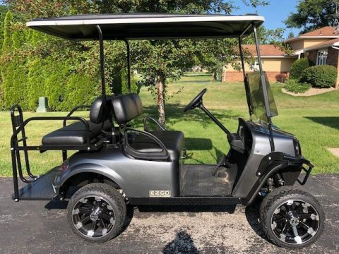 custom 2018 EZGO gas golf cart for sale