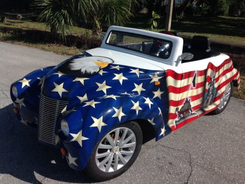 custom paint 2017 ACG Roadster Golf Cart for sale