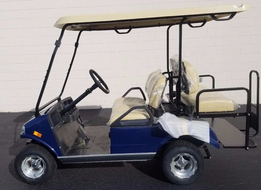 equipped 2018 Evolution LSV Golf Cart