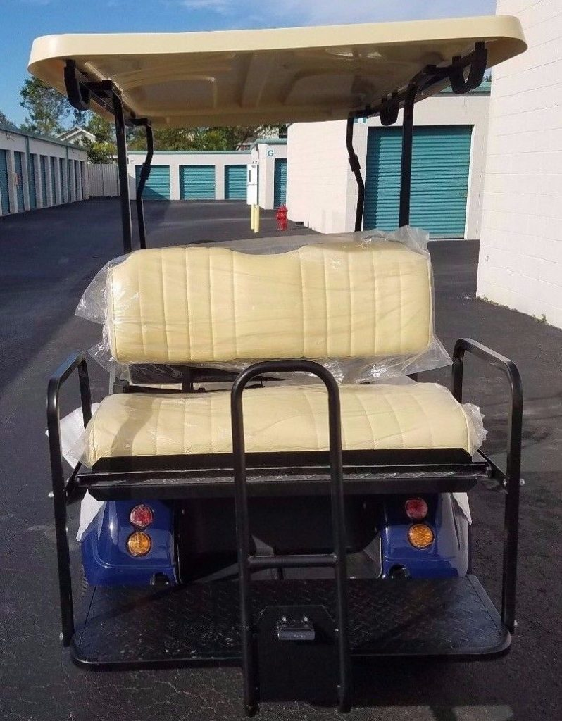equipped 2018 Evolution LSV Golf Cart