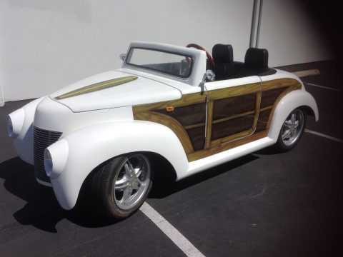 like new 2017 ACG 39 Roadster golf cart for sale